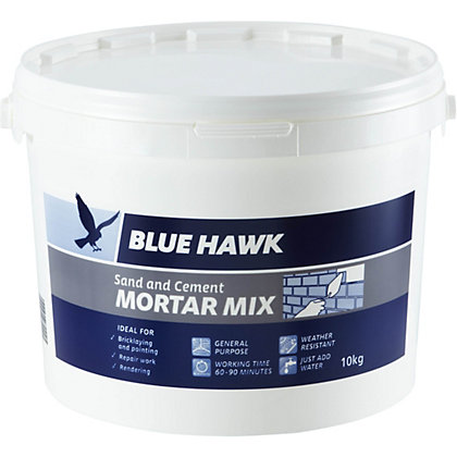 Image for Blue Hawk Sand and Cement Mortar Mix Bucket - 10kg from StoreName