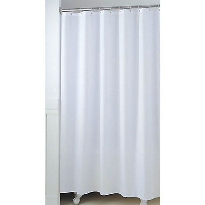 Image for Shower Curtain - White from StoreName