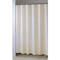 Shower Curtain - Plain Ivory