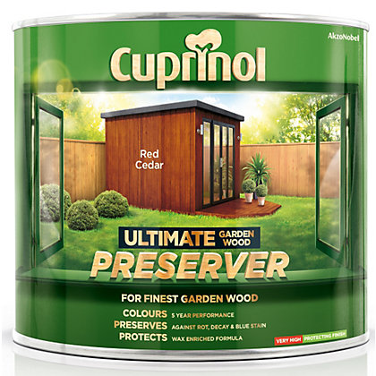 Image for Cuprinol Ultimate Preserver - Red Cedar - 1L from StoreName