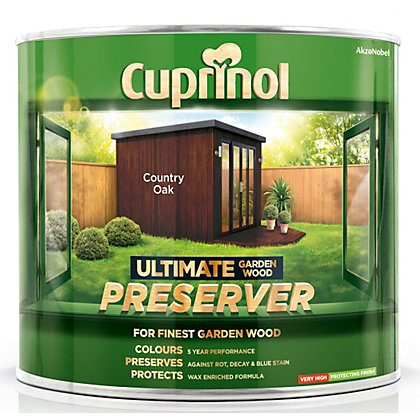Image for Cuprinol Ultimate Preserver - Country Oak - 1L from StoreName