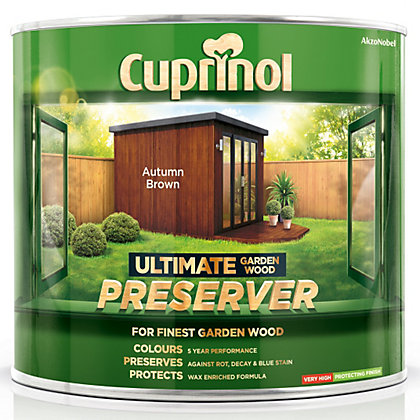 Image for Cuprinol Ultimate Preserver - Autumn Brown - 1L from StoreName