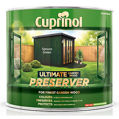 Image for Cuprinol Ultimate Preserver - Spruce Green - 1L from StoreName
