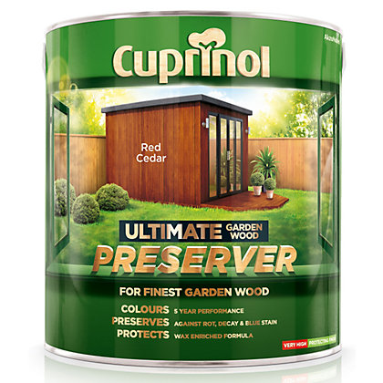 Image for Cuprinol Ultimate Preserver - Red Cedar - 4L from StoreName