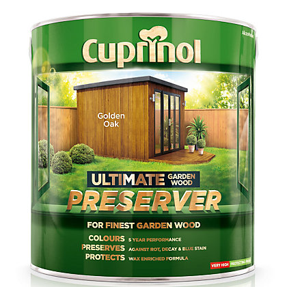 Image for Cuprinol Ultimate Preserver - Golden Oak - 4L from StoreName