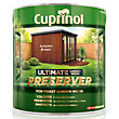 Cuprinol Ultimate Preserver - Autumn Brown - 4L