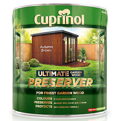Image for Cuprinol Ultimate Preserver - Autumn Brown - 4L from StoreName