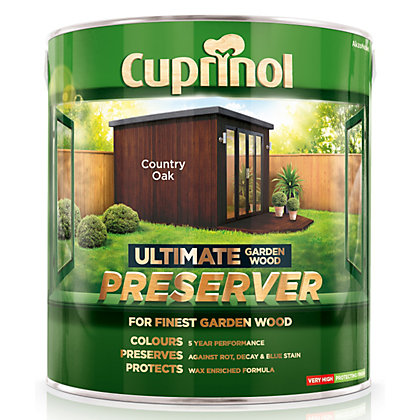 Image for Cuprinol Ultimate Preserver - Country Oak - 4L from StoreName