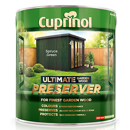 Image for Cuprinol Ultimate Preserver - Spruce Green - 4L from StoreName