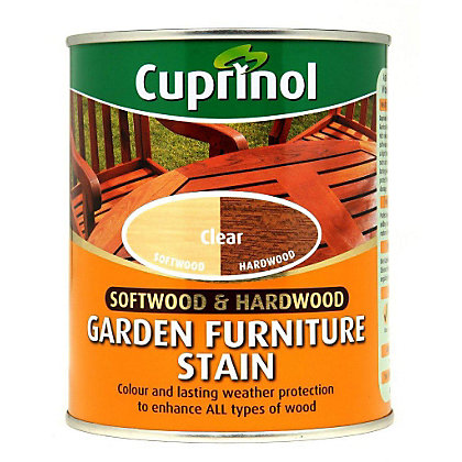 Image for Cuprinol Softwood and Hardwood Garden Furniture Stain - Clear - 750ml from StoreName
