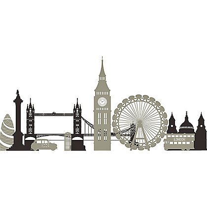 Image for Fine Decor London Calling Stickers from StoreName