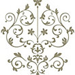 Fine Decor Nouveau Damask WallPops Wall Stickers