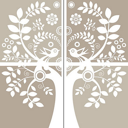 Image for Fine Decor Love Birds WallPops Wall Stickers from StoreName