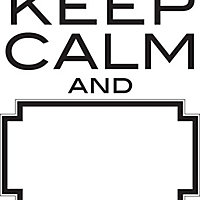 Fine Decor Keep Calm Dry Erase WallPops Wall Stickers