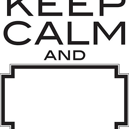 Image for Fine Decor Keep Calm Dry Erase WallPops Wall Stickers from StoreName
