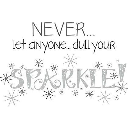 Image for Fine Decor Sparkle WallPops Wall Stickers from StoreName