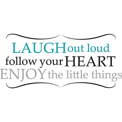 Image for Fine Decor Laugh out Loud WallPops Wall Stickers from StoreName