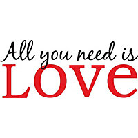 All You need is Love WallPops Wall Stickers