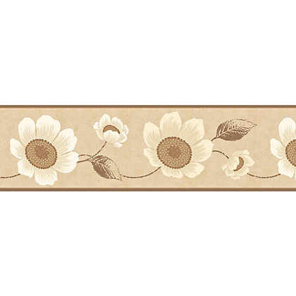 Image for Fine Decor Carissa Border - Beige from StoreName