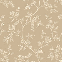 Fine Decor Beatrice Wallpaper - Gold