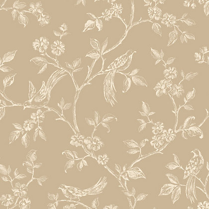 Image for Fine Decor Beatrice Wallpaper - Gold from StoreName