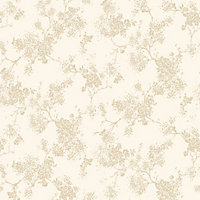 Fine Decor Everlyn Wallpaper - Gold