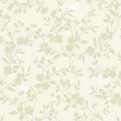 Image for Fine Decor Saskia Green Wallpaper from StoreName