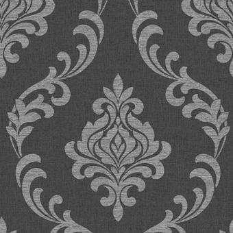 Cream Damask Wallpaper Homebase Co Uk