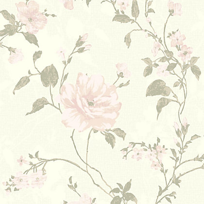Image for Gran Deco Fusion Wallpaper - Pink from StoreName