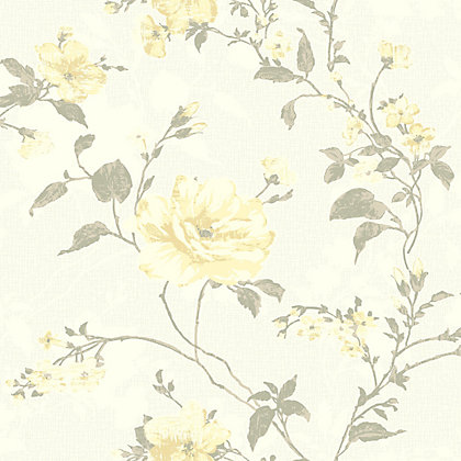 Image for Gran Deco Fusion Wallpaper - Yellow from StoreName