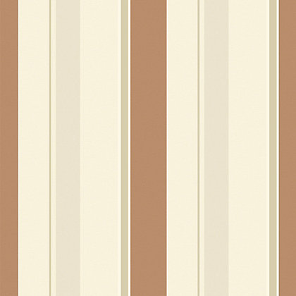 Image for Gran Deco Jasmine Stripe Wallpaper - Rust from StoreName