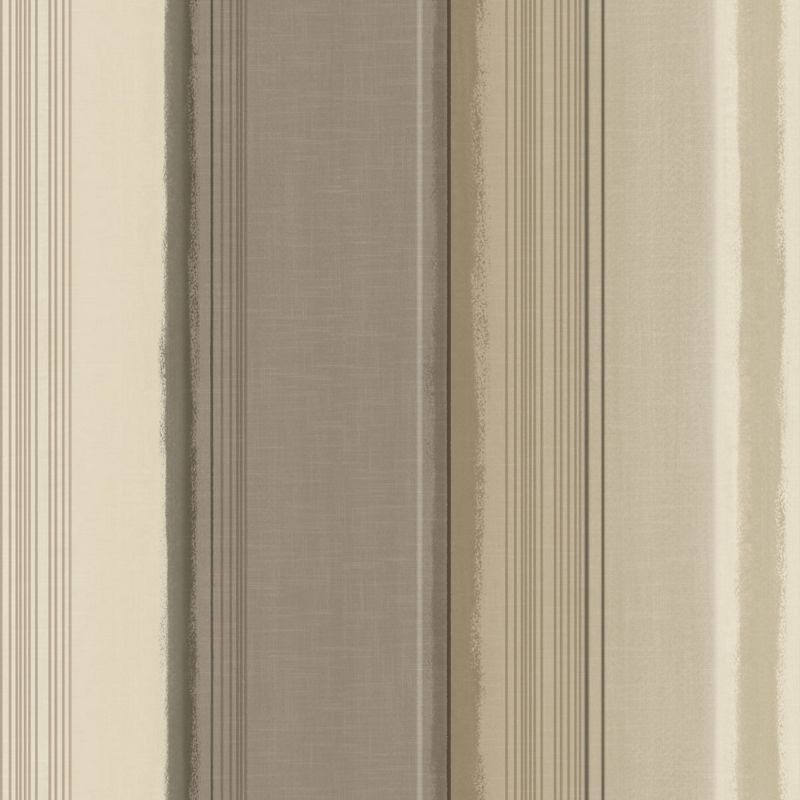 Gran deco elise stripe wallpaper taupe - Deco taupe ...
