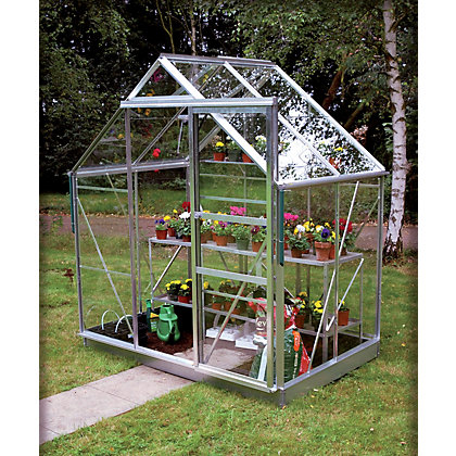 Image for Baroness Greenhouse Base Pack - Green - 6x4ft from StoreName