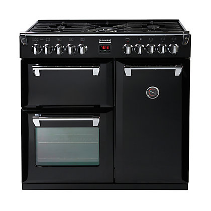 Image for Stoves Richmond 900DFT Dual Fuel Range Cooker - Black from StoreName