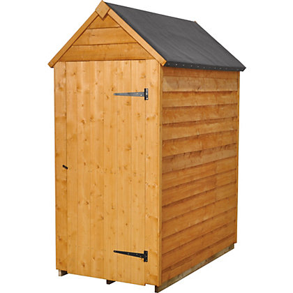 Forest value shed 3ft x 5ft at homebase be inspired for Garden shed homebase
