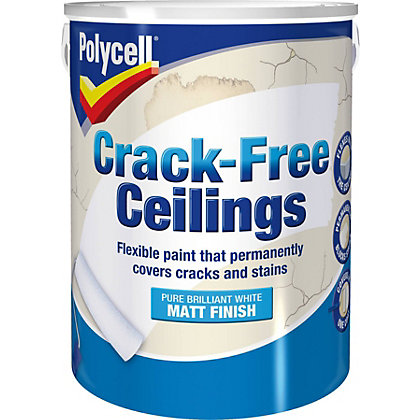 Image for Polycell Smoothover Crack Free - Matt Finish - 5L from StoreName