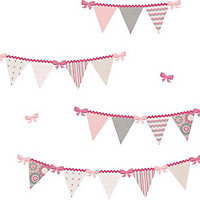 Fine Decor Halley Pennant WallPops Wall Stickers