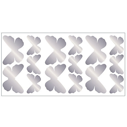 Image for Fine Decor Butterfly Foil Stickers from StoreName