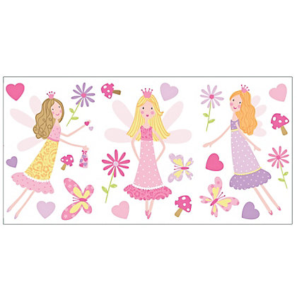 Image for Fine Decor Fairy Garden Stickers from StoreName