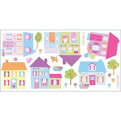 Image for Fine Decor Happy Street Stickers from StoreName
