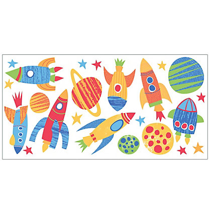 Image for Fine Decor Blast Off Stickers from StoreName