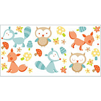 Forest Friends Multi Stickers