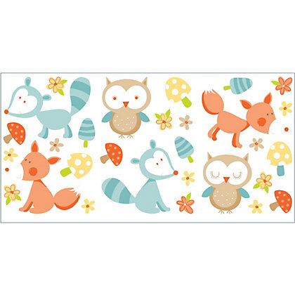 Image for Forest Friends Multi Stickers from StoreName