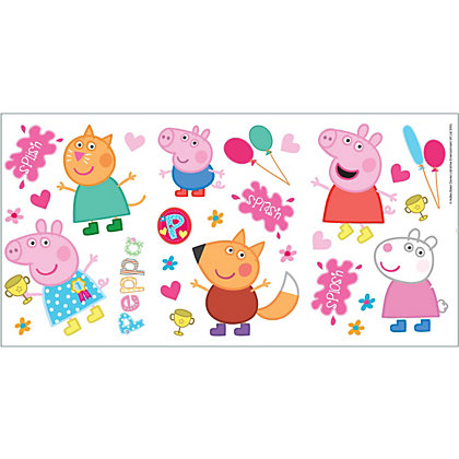 Image for Fine Decor Peppa Pig Stickers from StoreName