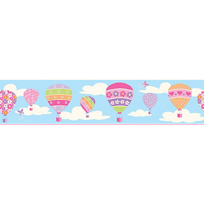 Image for Fine Decor Balloons Blue Border from StoreName
