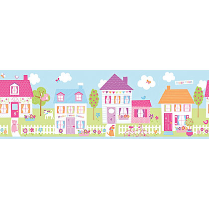 Image for Fine Decor Happy Street Border from StoreName