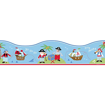 Image for Fine Decor Pirates Border from StoreName