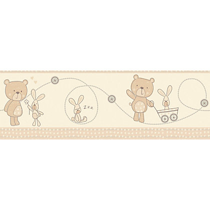 Image for Fine Decor Bear And Boo Border from StoreName