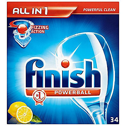 Image for Finish Powerball All In 1 Lemon Sparkle from StoreName