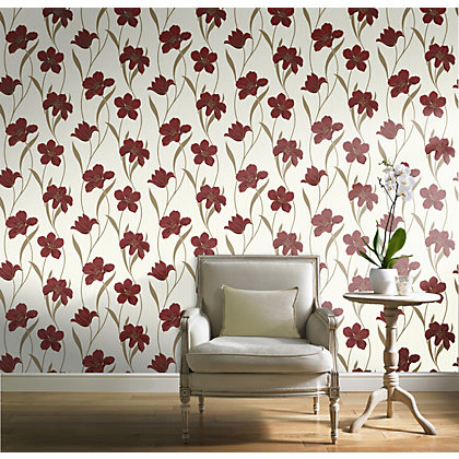 Image for Gran Deco Vilamoura Wallpaper - Red from StoreName